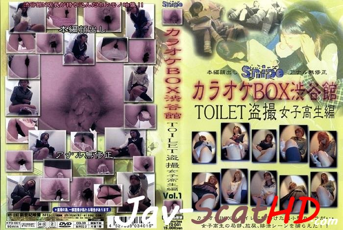 KTD-001  Schoolgirls excretion in toilet spycam. Schoolgirl Defecation SD (Windows Media / 717 MB)