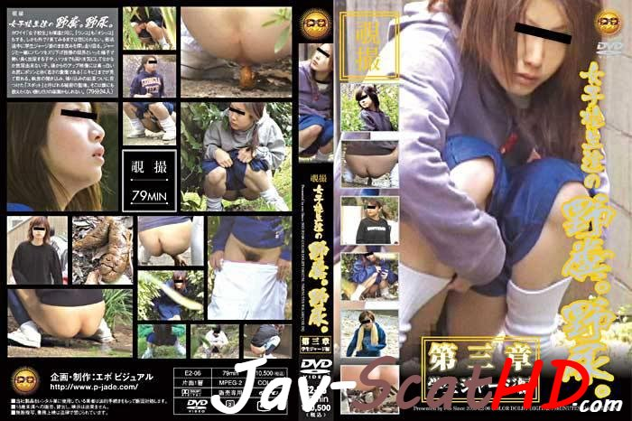 E2-06 Schoolgirl Schoolgirls shitting and pissing outdoor. Pissing Outdoor peeing SD (MPEG-4 / 889 MB)