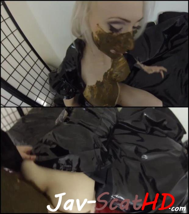 [Special #64]  Scat couple coprophagy sex. Pov scat Defecation FullHD 1080p (MPEG-4 / 1002 MB)