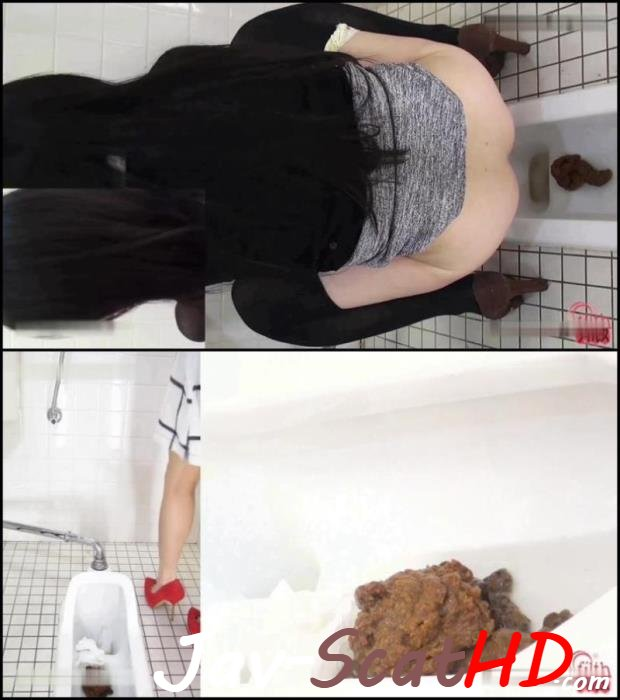 BFFF-75 Spy camera Cuties girls pooping in public toilet. Jav Scat Closeup FullHD 1080p (MPEG-4 / 787 MB)