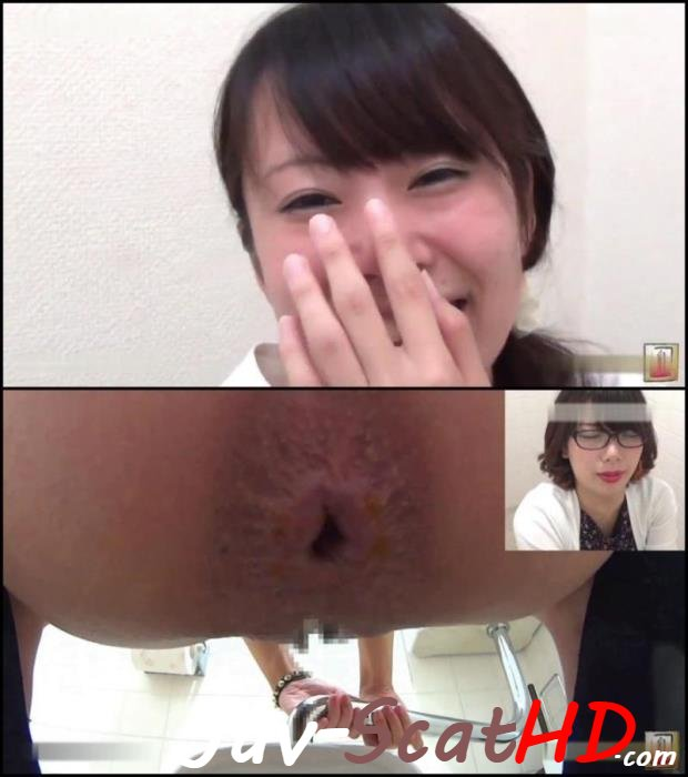 BFJG-56 Pooping Girls self filmed their own defecation in public toilet. DLJG-274 Closeup FullHD 1080p (MPEG-4 / 659 MB)