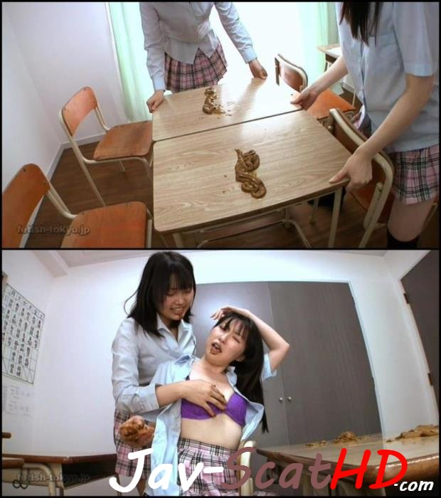 BFHD-88 Copro Schoolgirls lesbians scat play during the lesson. Fetish-Tokyo Defecation HD 720p (MPEG-4 / 2.09 GB)