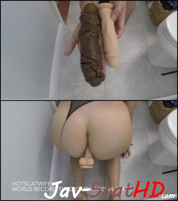 [Special #582] Jav Scat Woman defecates very large hard turd – this world record. 2019 Scatting FullHD 1080p (MPEG-4 / 1.09 GB)