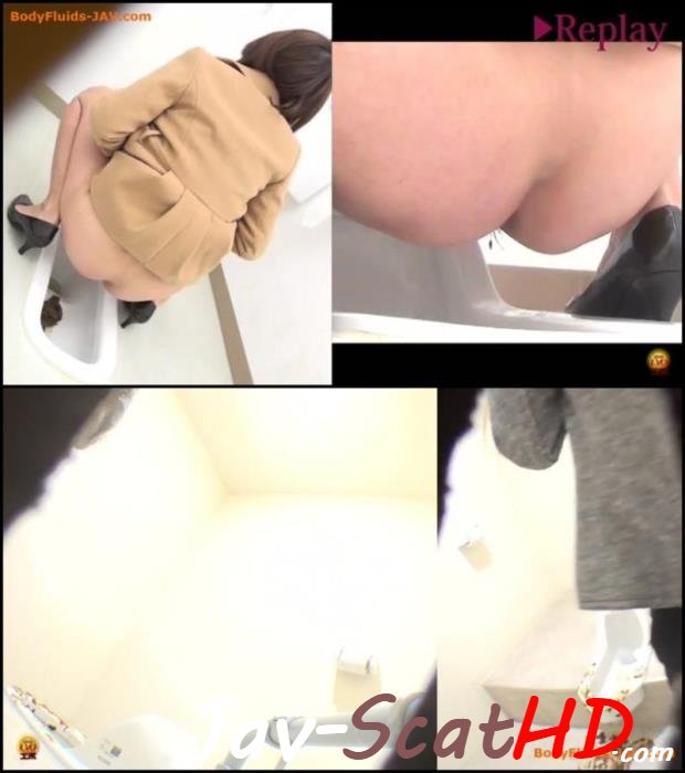 BFEE-41 Jade Evo Spy camera in public toilet filming poop japanese women. EVO poop Closeup FullHD 1080p (MPEG-4 / 392 MB)