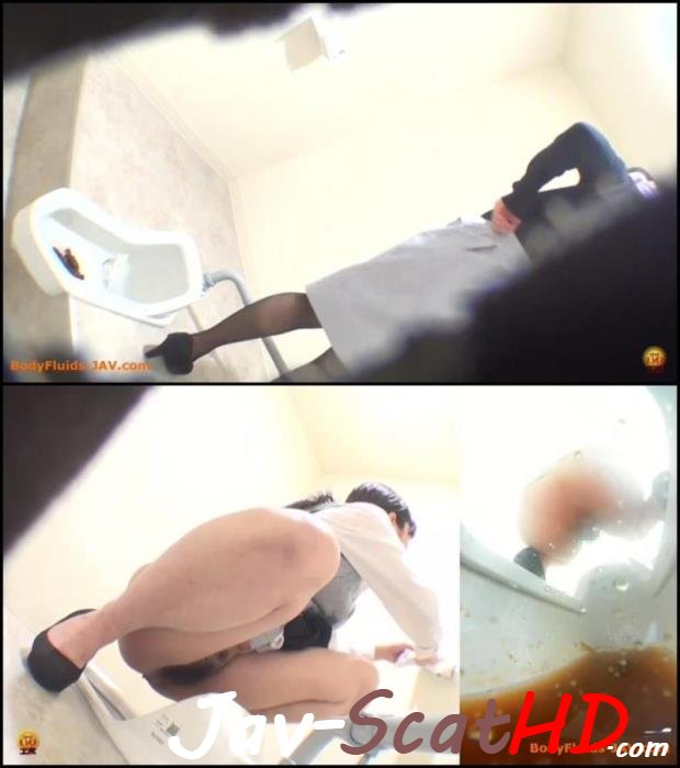 BFEE-46 HD poop Womans excretion in toilet. Diarrhea Closeup FullHD 1080p (MPEG-4 / 274 MB)