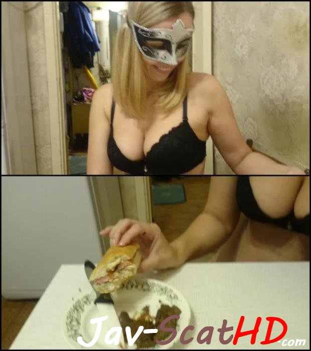 [Special #706] Scat swallow Brown wife eats hotdog with shit, is delicious food. Eats hotdog with shit Brown Wife FullHD 1080p (MPEG-4 / 974 MB)