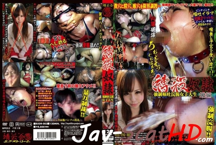 BXDR-003  Forced Vomiting and Enema, College Girl Saitou Anna (Iida Seiko). Milk enema Forced SD (Windows Media / 2.59 GB)