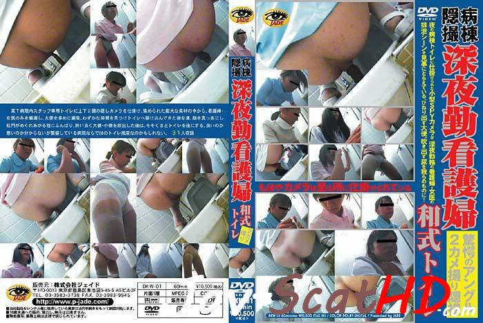 DKW-01  Toilet scat voyeur.  Spy camera SD (AVI / 869 MB)