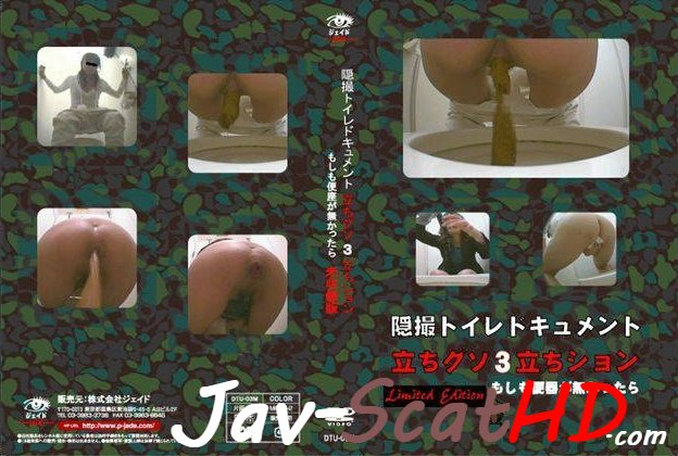 BFJT-14  Seatless toilet poo and pee spycam. Toilet scat Pooping SD (AVI / 347 MB)